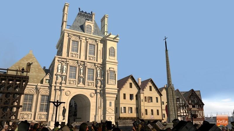 Reconstrucción 3D del París de 1550 13b5