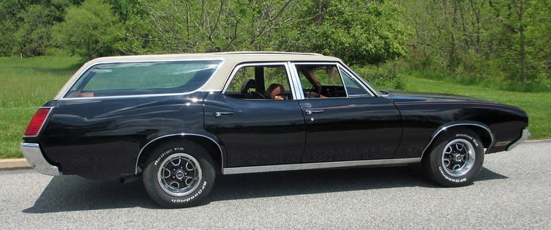 ... (US) ... 1971 Oldsmobile Cutlass Wagon ... F7rc