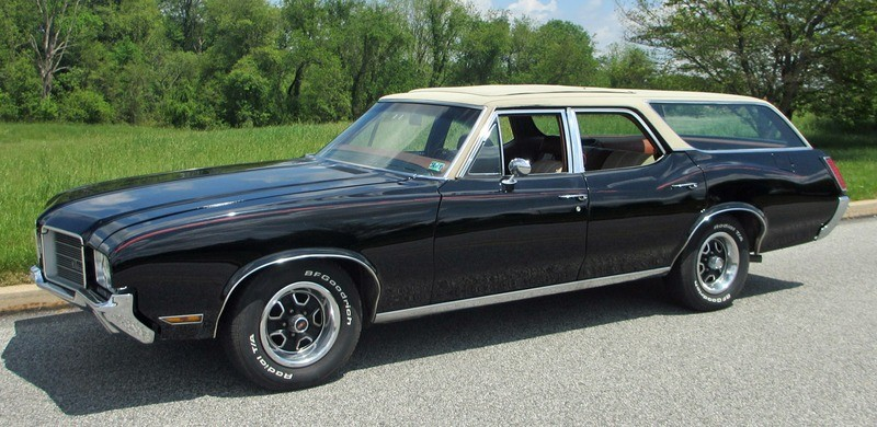 ... (US) ... 1971 Oldsmobile Cutlass Wagon ... B8jx