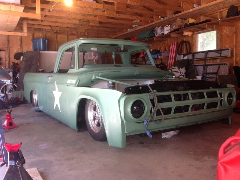 How about some pics of bagged sweptline dodge trucks Jtne