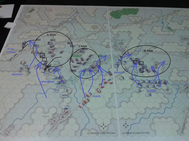 [CR] Le Retour de l'Empereur, bataille de Ligny - historique par équipe YIktPE
