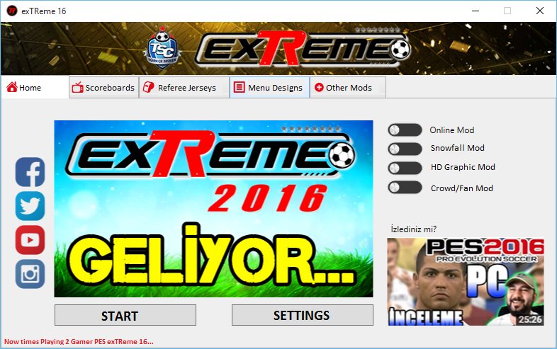 [PES 2016 PC] PES exTReme 16 v2 (with DLC 2.0) - RELEASED & ADDED LINKS T9tFZP