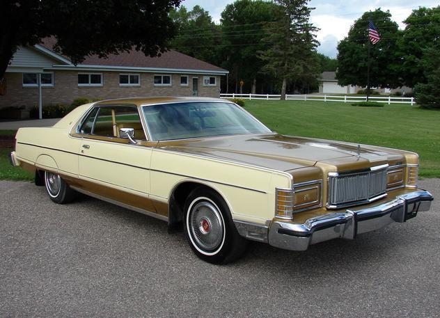 ... (US) 1977 Mercury Grand Marquis  ... 1b4c4a