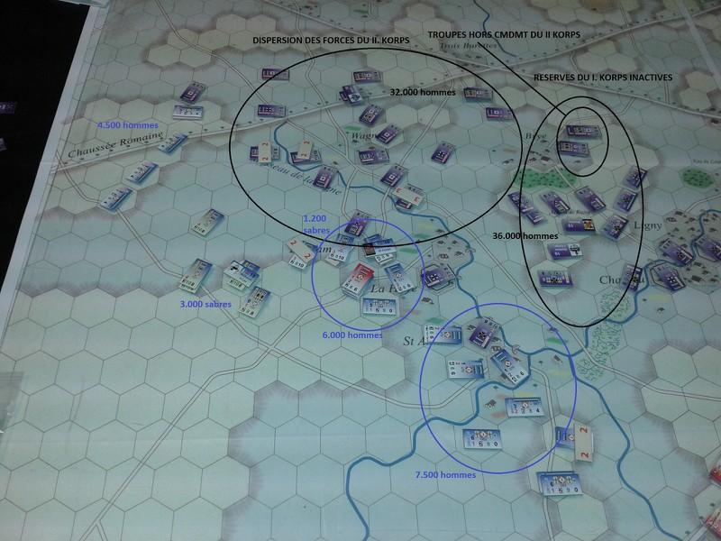 [CR] Le Retour de l'Empereur, bataille de Ligny - historique par équipe BFui48