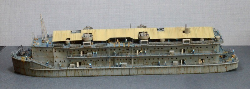 ABSD ARTISAN et USS MASSACHUSETTS BB-59 au 1/350 - Page 13 EyyFA0