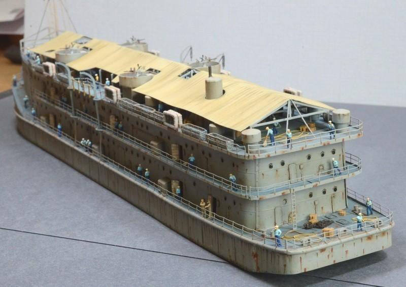 ABSD ARTISAN et USS MASSACHUSETTS BB-59 au 1/350 - Page 13 LoVx1V