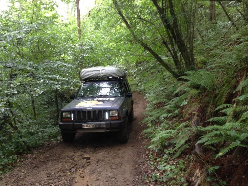 La traversée de la France avec ma p'tite Jeep Q74pII