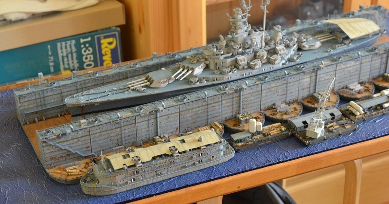 ABSD ARTISAN et USS MASSACHUSETTS BB-59 au 1/350 - Page 13 YkzakF