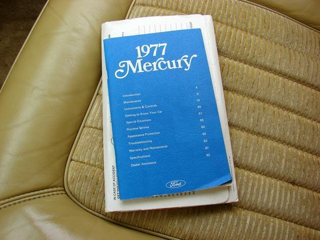 ... (US) 1977 Mercury Grand Marquis  ... 8a4c78