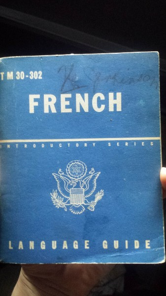 tampon livret French language guide? KatEtY