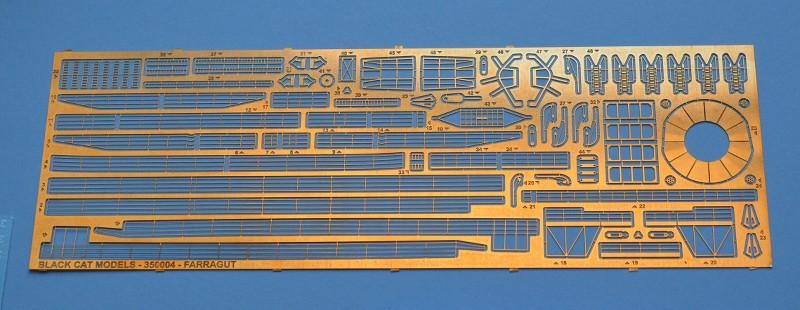 USS FARRAGUT DD-348 au 1/350 de chez BLACK CAT MODELS CMOvKS
