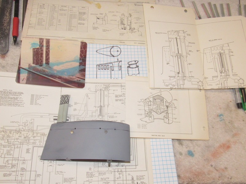 Assembling the excellent Scale Shipyards 1/96 SSBN, USS Daniel Webster DqSi2C