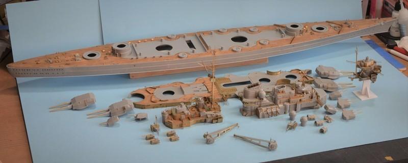 Grande grue 250 t port de Hambourg et Bismarck Revell au 1/350 - Page 6 16UDHt