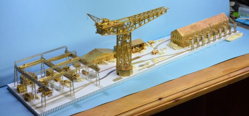 Grande grue 250 t port de Hambourg et Bismarck au 1/350 - Page 6 6pOinj