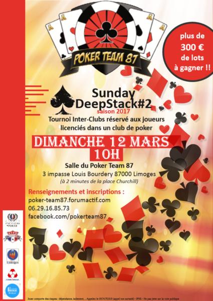 Open Sunday Deepstack #2 du Poker Team 87 - 12/03/17 7ZWiv2