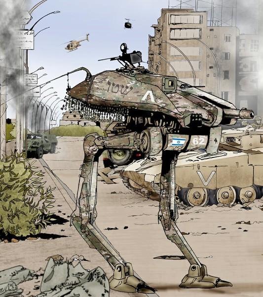 GAZA 2040 - HOMMAGE DE YVES DEBAY Dq9E4d