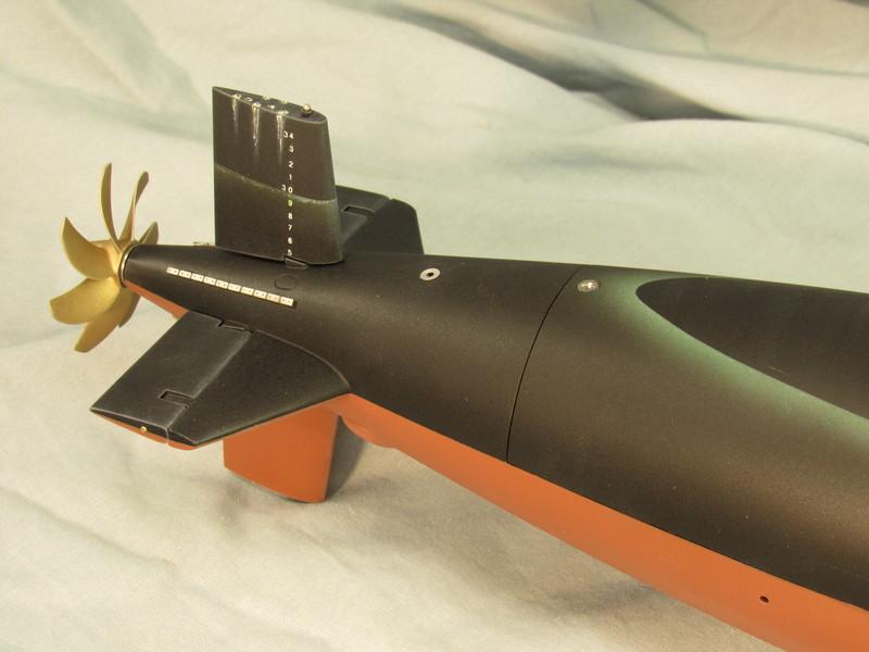 building a 1/96 THRESHER r/c submarine DP1Jbh