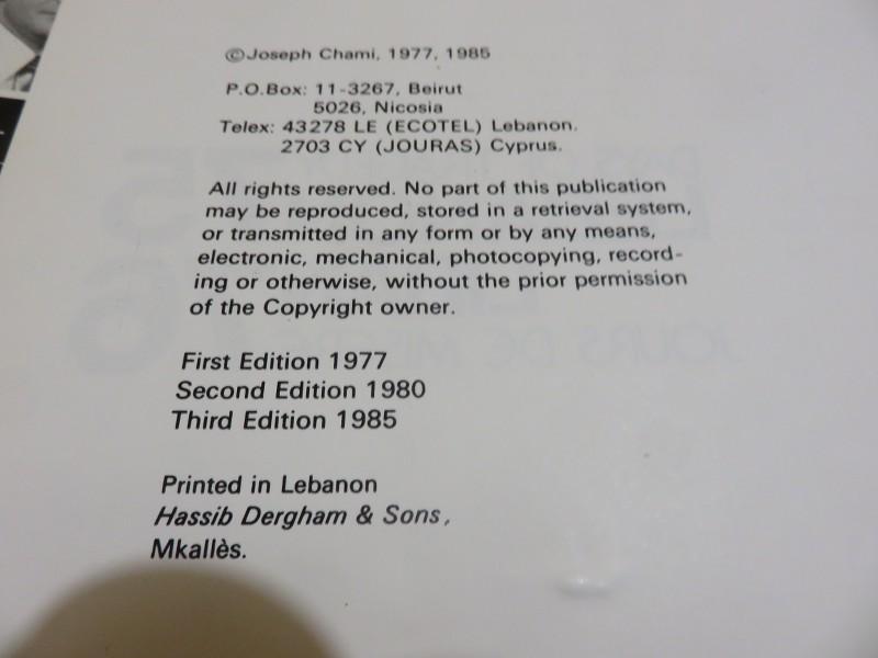 LIBAN de Joseph G. Chami  GeGEpw