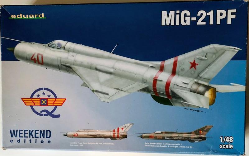 MIG 21PF NORD VIETNAM - EDUARD - 1/48 HkHBNf