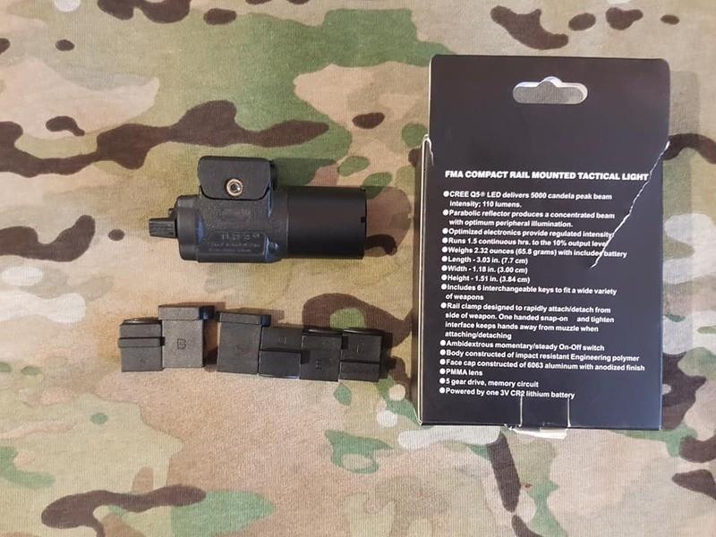 Fma Tb 622 Copie Streamlight Tlr-3, Lampe pour PA Iyd9Ki