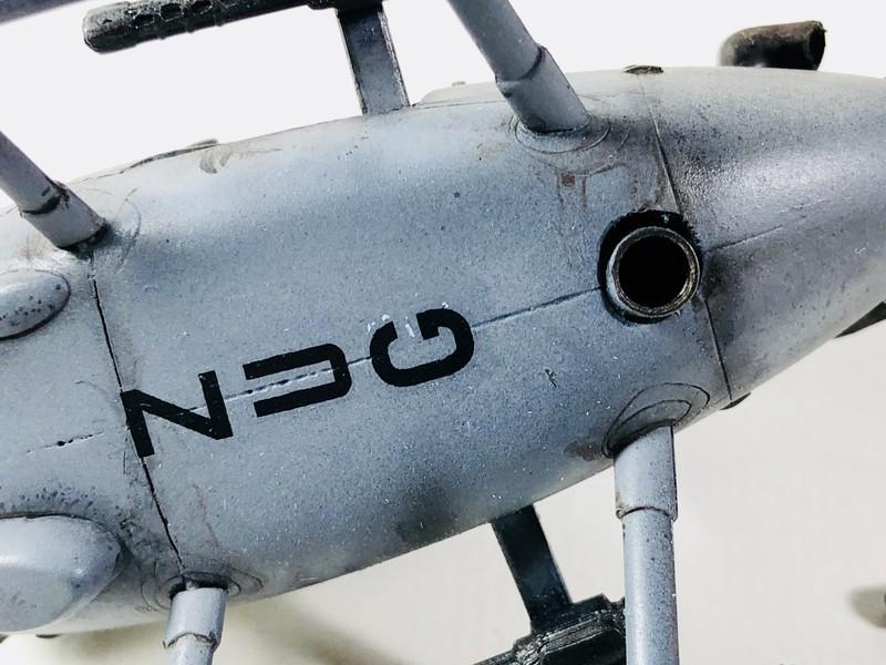 AH-6 ACADEMY 1/48 Double montage Jyikqo