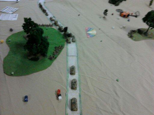 Rapport de combat : La 21ème panzer contre-attaque ROD43i