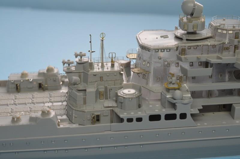 Diorama Class KIROV et Class SLAVA au 1/350 – Kit Trumpeter  RUrRVP