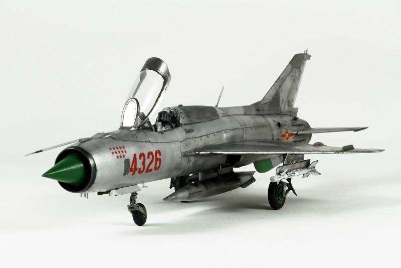 MIG 21PF NORD VIETNAM - EDUARD - 1/48 S8F219