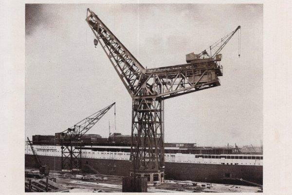 Grande grue 250 t port de Hambourg et Bismarck au 1/350 3DLhyT