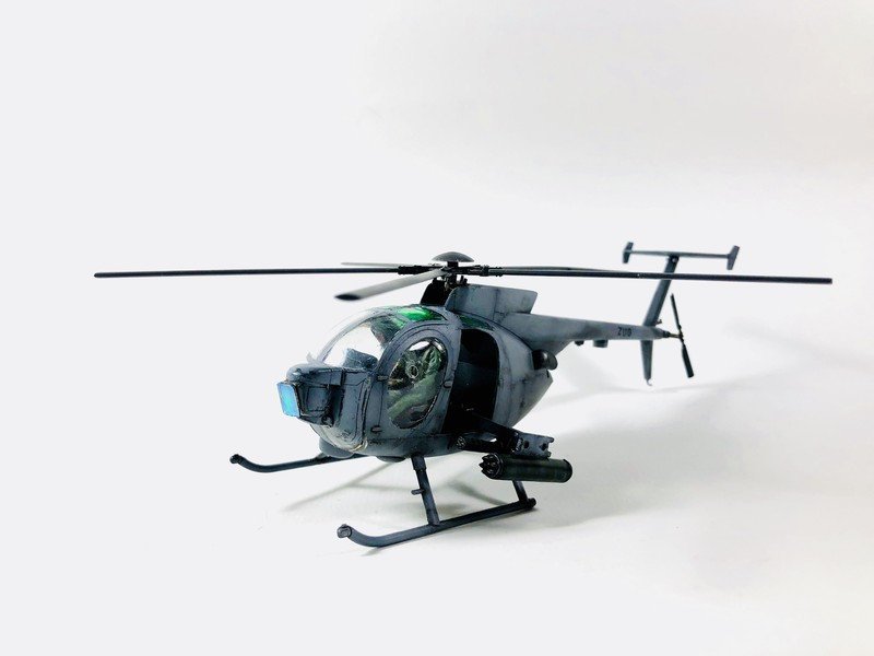 AH-6 ACADEMY 1/48 Double montage 63f3Kd