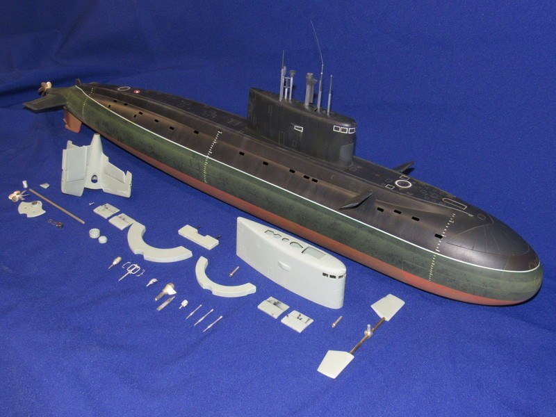 assembling the SWM 1/96 KILO AcbRbh