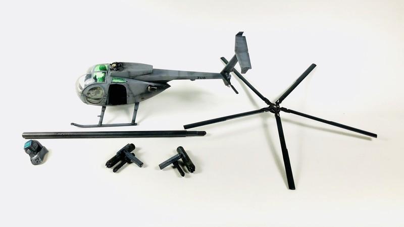 AH-6 ACADEMY 1/48 Double montage B4AojP