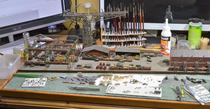 Grande grue 250 t port de Hambourg et Bismarck au 1/350 - Page 16 DiNJUG