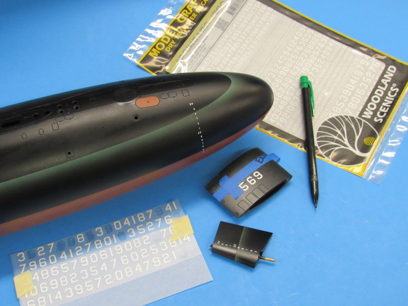 building a 1/96 THRESHER r/c submarine F30Gw6