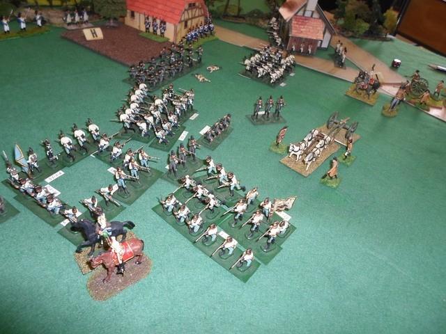 Rapport de la partie du 27 mai. Empire : campagne d'Autriche de 1809 QoHGOS