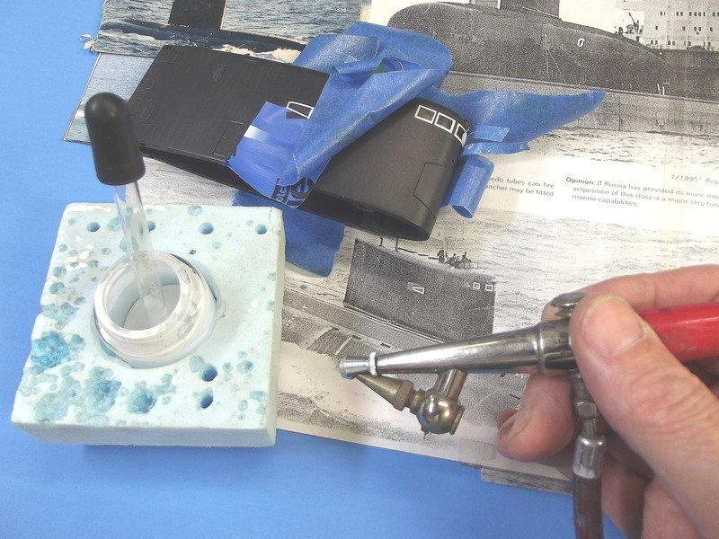 assembling the SWM 1/96 KILO YtRUze