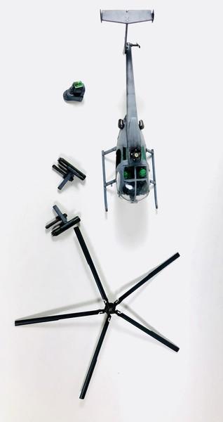 AH-6 ACADEMY 1/48 Double montage EVbGW6