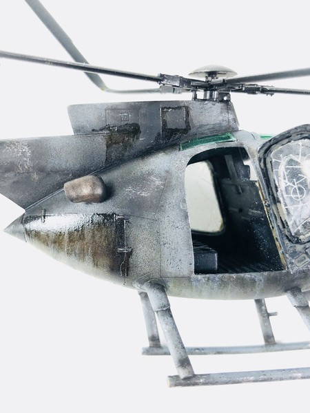 AH-6 ACADEMY 1/48 Double montage Pac2O3