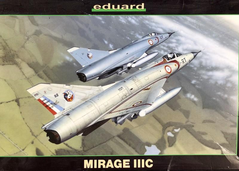 MIRAGE IIIC EDUARD 1/48 VdjavG