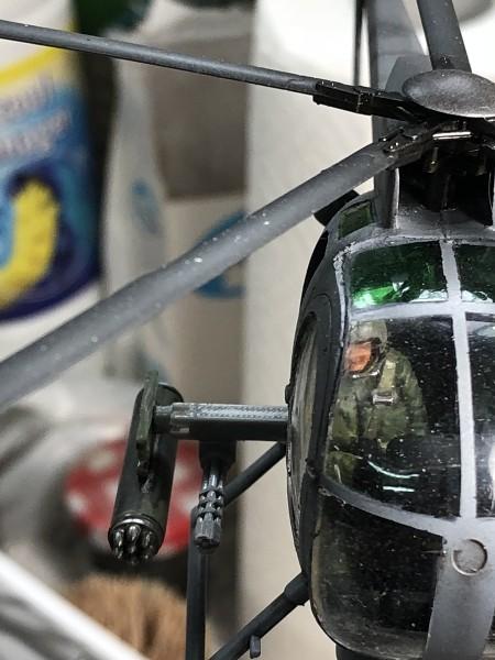 AH-6 ACADEMY 1/48 Double montage 22Bnaf
