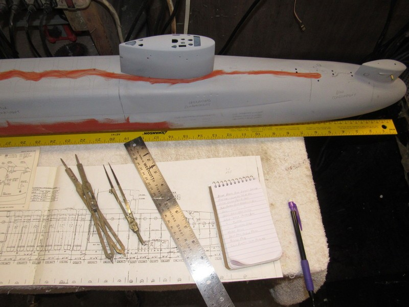 Assembling the excellent Scale Shipyards 1/96 SSBN, USS Daniel Webster BCcjnH