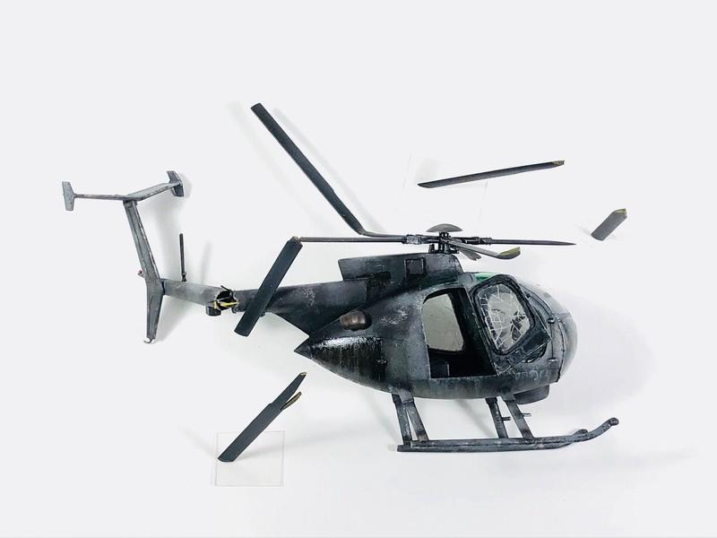 AH-6 ACADEMY 1/48 Double montage Ync2v2