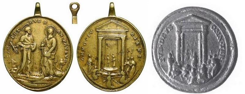 jubileo - Jubileo Romano - San pedro y San Pablo MR(369) (R.M. SXVIII-O229) Dduh