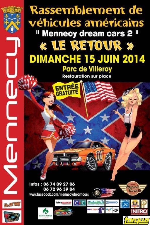 """Mennecy dream cars 2014 """"le retour"""" (91) E974"""