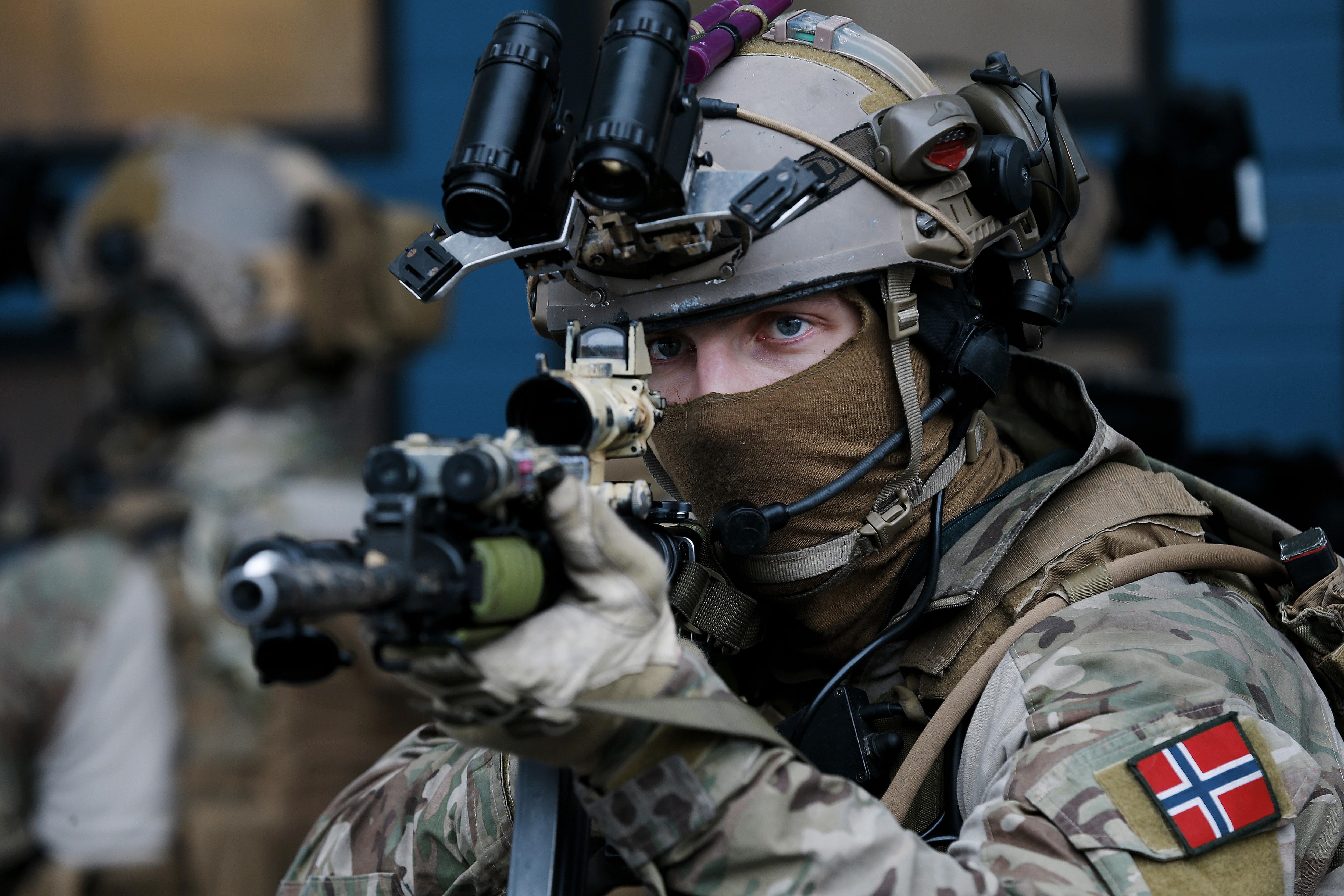 Armée Norvégienne Pue3