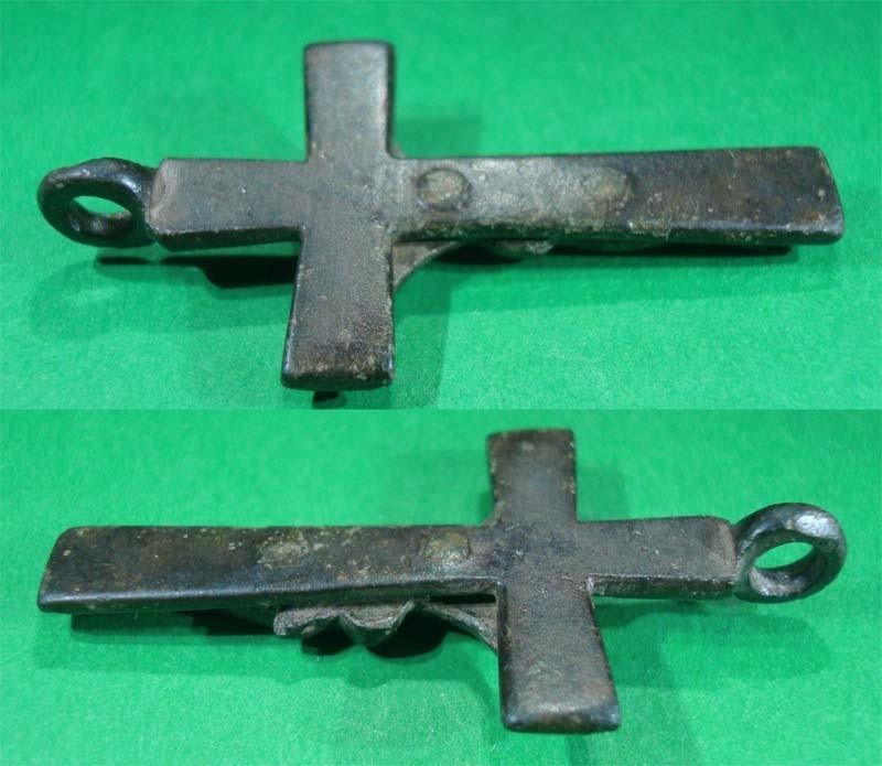 Crucifijo pectoral - CC075 1ku2