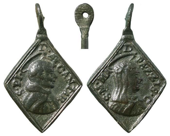 Algunas formas atípicas de medallas. B0727c