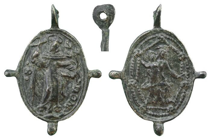 Proyecto recopilación medallas Santo Domingo de Guzmán  179651