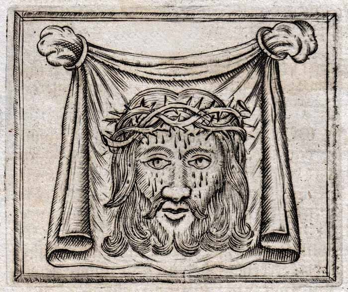 Santa Faz / Crucifixión de Jesús - MR(420) (R.M. SXVI-O20) CTURae