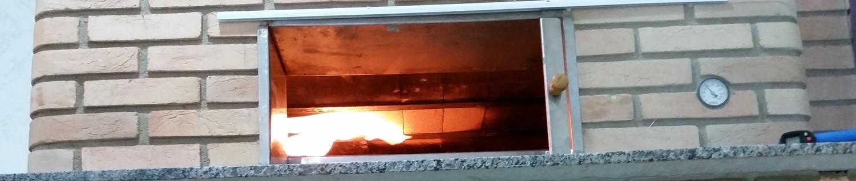 Mais um Forno Las Lenhas do Cheff Hassin construído em Salvador e pizzas sensacionais feitos neste forno! SfSJlC